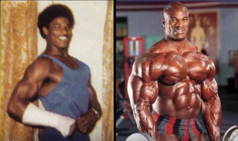 Ronnie Coleman Steroids Before And After Pro bodybuilders before and ...