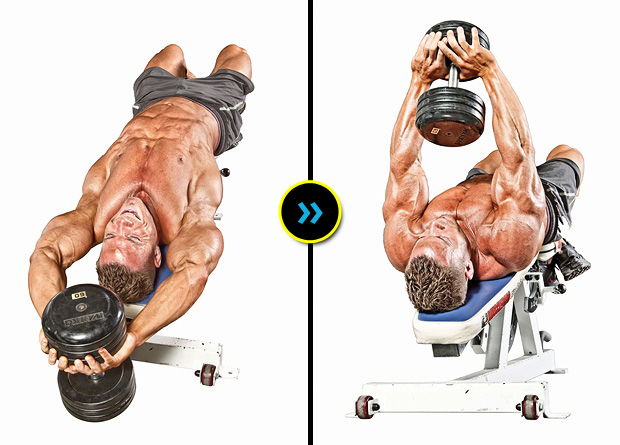 4 The Dumbbell Pullover Is A Good Lat Exercise