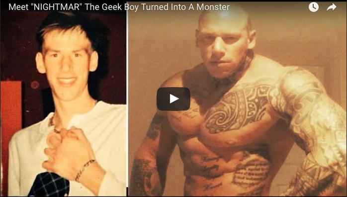 """Meet """"THE NIGHTMARE"""" The Geek Boy Turned Into A Monster"""