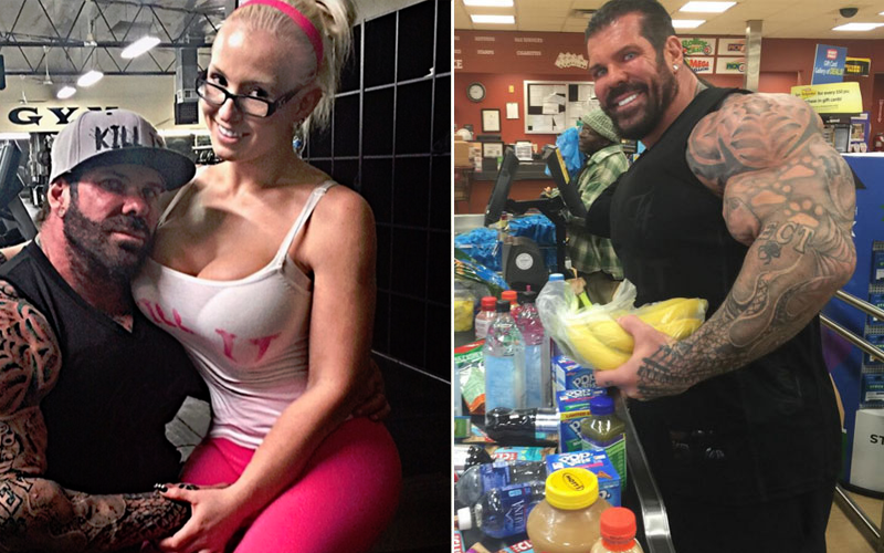 Rich Piana Has Finally Quit His Epic Bulk at 316 After Gaining 40 Pounds in 9 Weeks