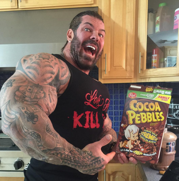 rich piana meal food