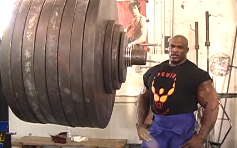 Ronnie Coleman Made a Video Of His Best Lifts Ever
