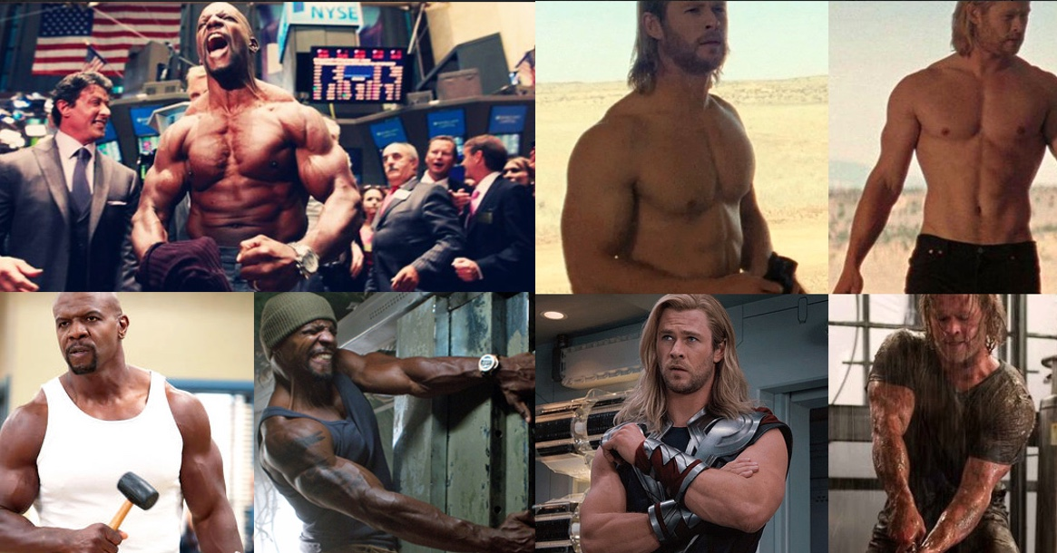 The 10 Most Cut , Jacked and Muscular Hollywood actors
