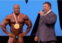 Mr Olympia 2016 results