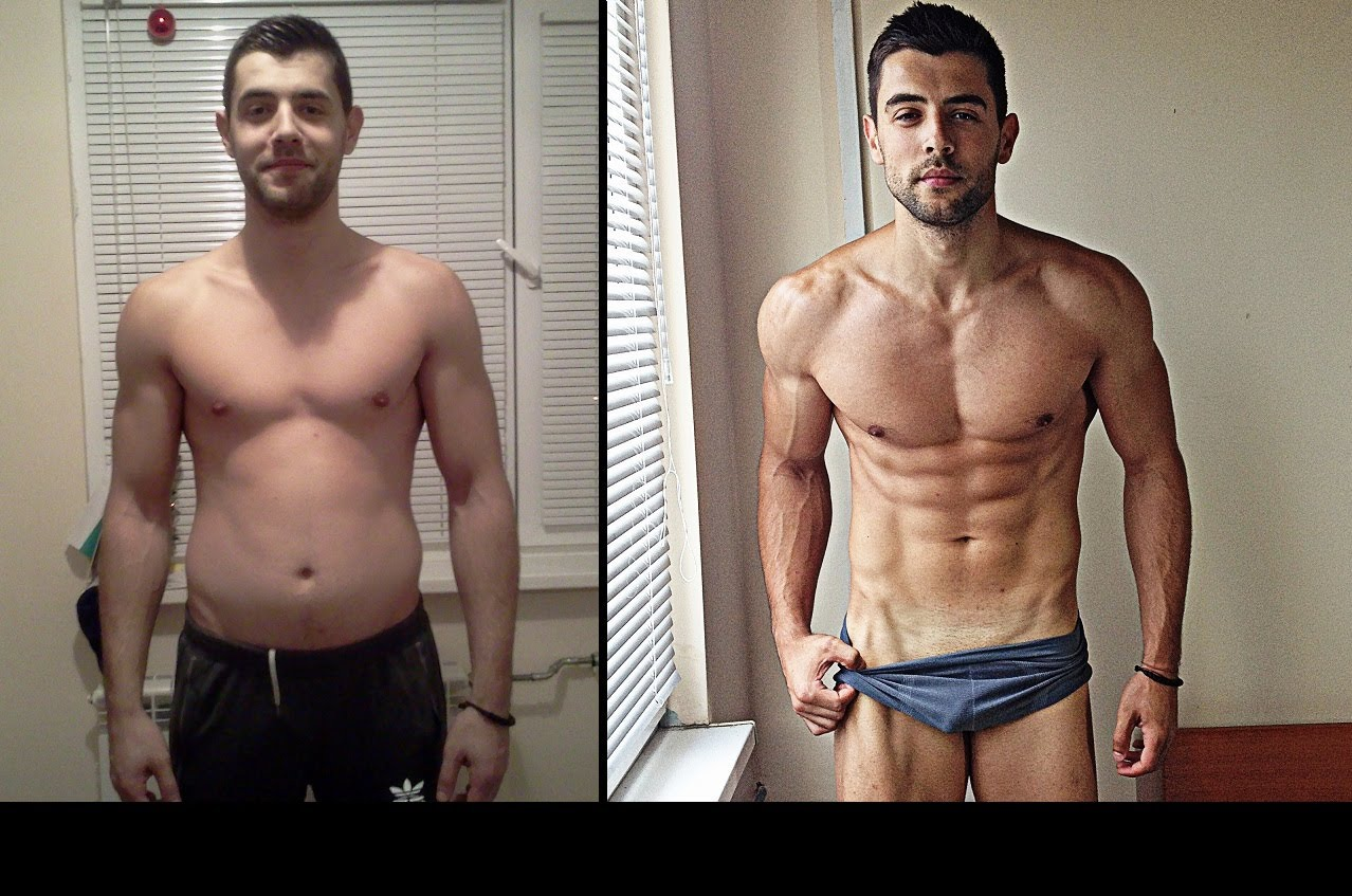 Body transformation before after asu