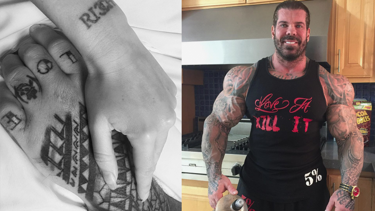 UPDATE: Rich Piana 'Is Alive, And OK' Says Girlfriend Chanel Jansen