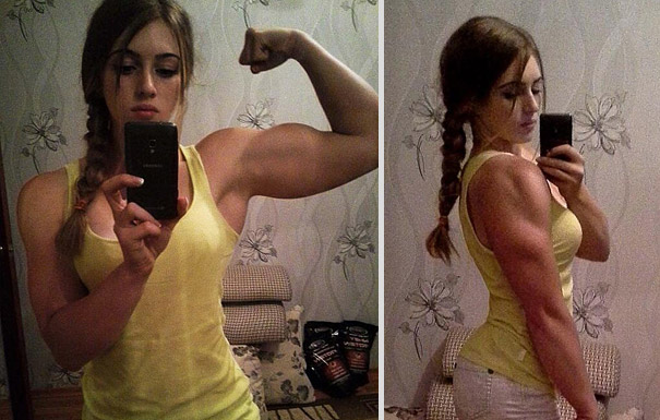 A 17-Year Old Powerlifter With a Doll-like Face
