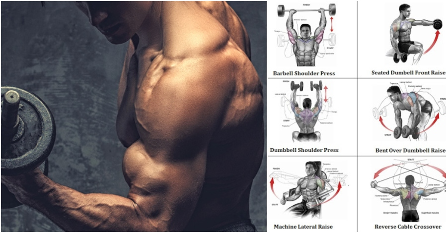 Add Serious Size To Your Shoulders With This Workout