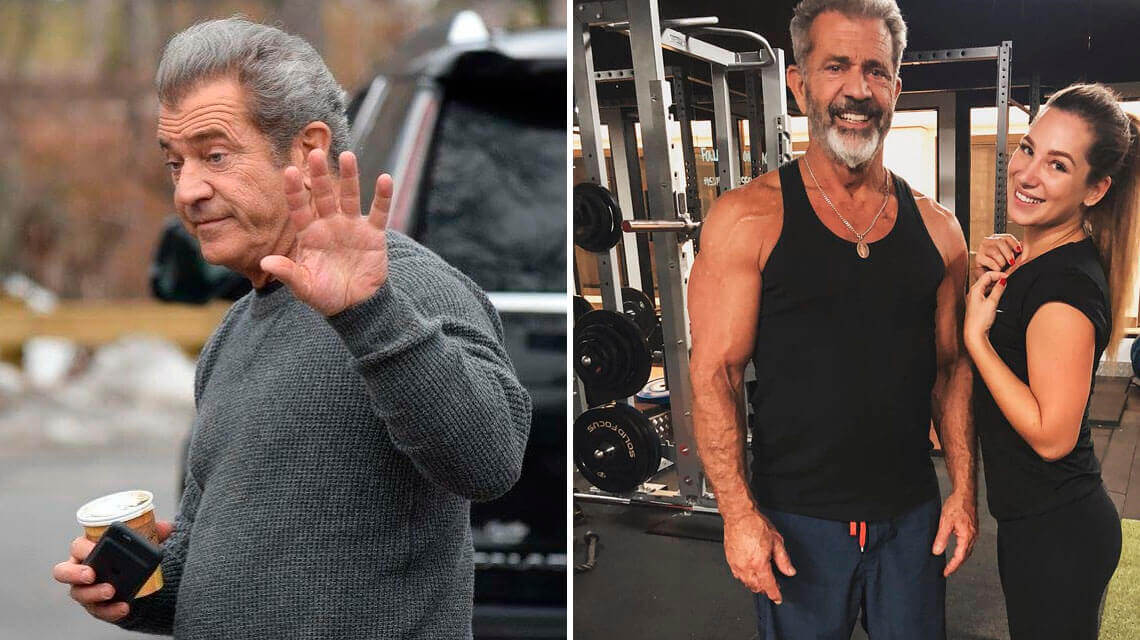 How a chance helped Mel Gibson lose 14 pounds in 8 weeks