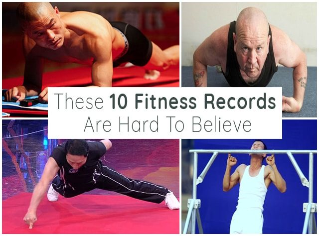 These 10 Fitness Records Are Hard To Believe