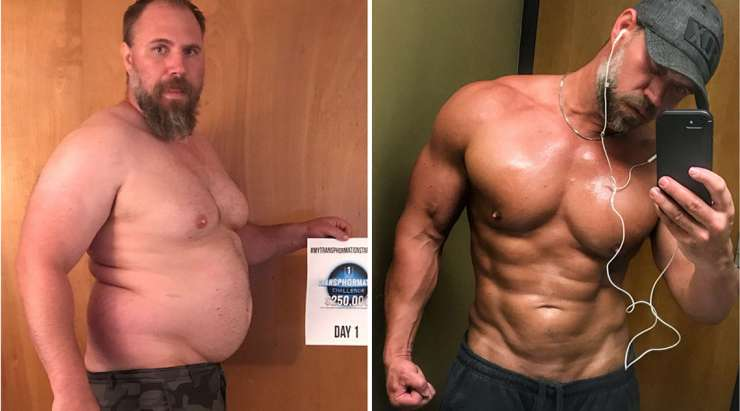 HIKING HELPED THIS DAD TO LOSE NEARLY 100 LBS AND GAIN A SIX-PACK