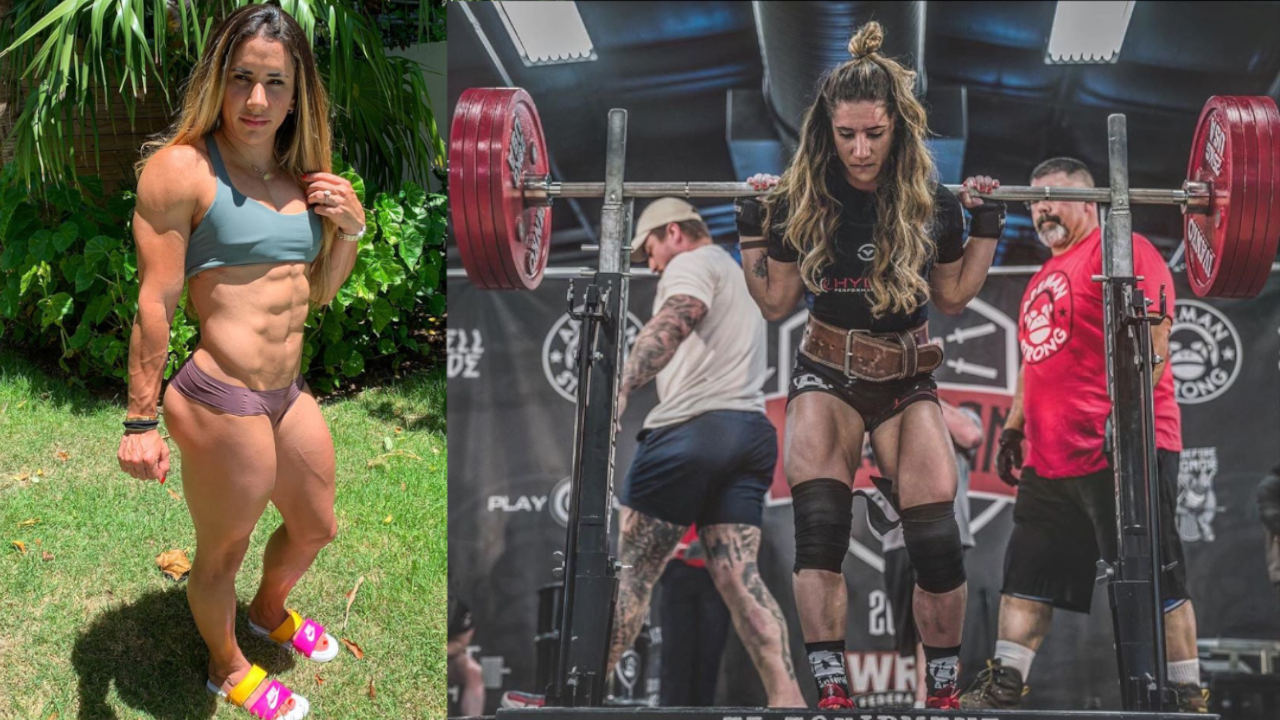 STEFANIE COHEN BREAKS TWO ALL-TIME WORLD RECORDS IN RAW POWERLIFTING HISTORY