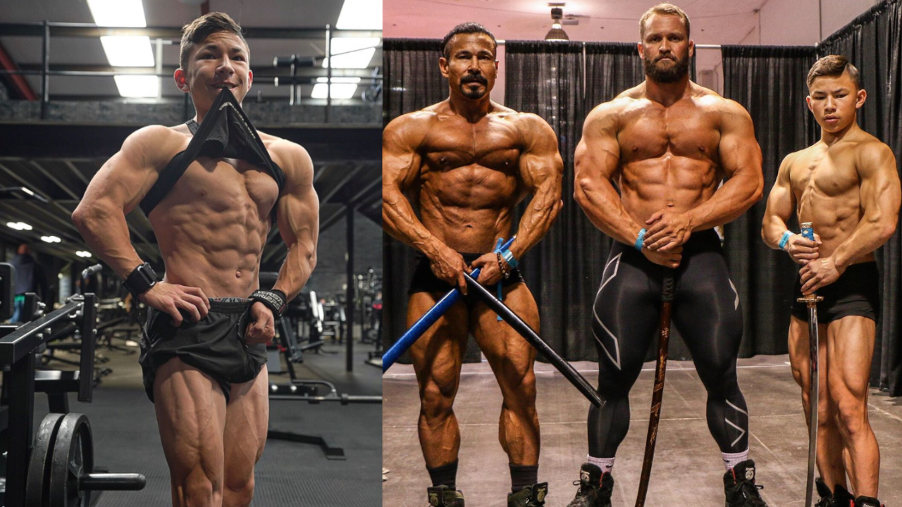 BEST BODYBUILDERS OF OUR TIME TO TRAIN WITH 16-YEAR-OLD TRISTYN LEE