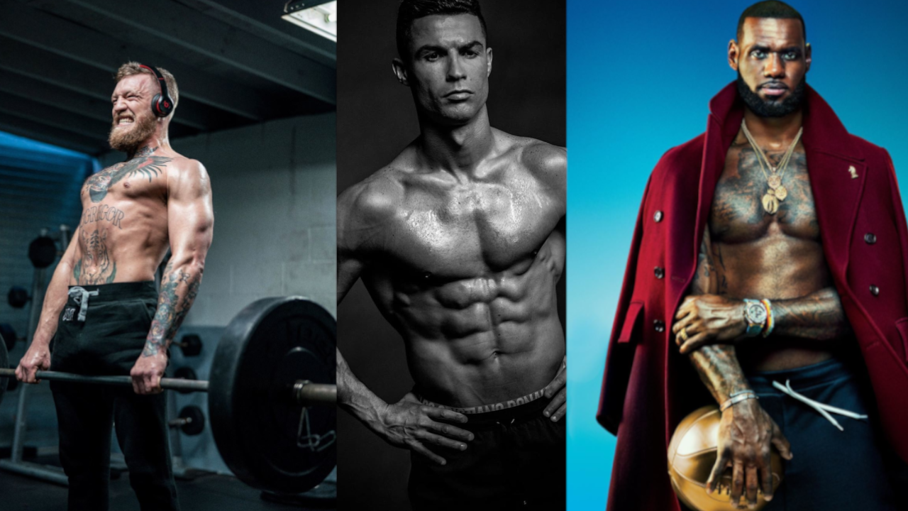 The Top-10 fittest athletes in 2019