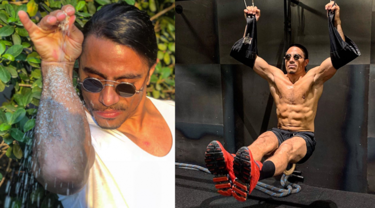 The Real-Life Diet of Salt Bae, Who Has Great Abs